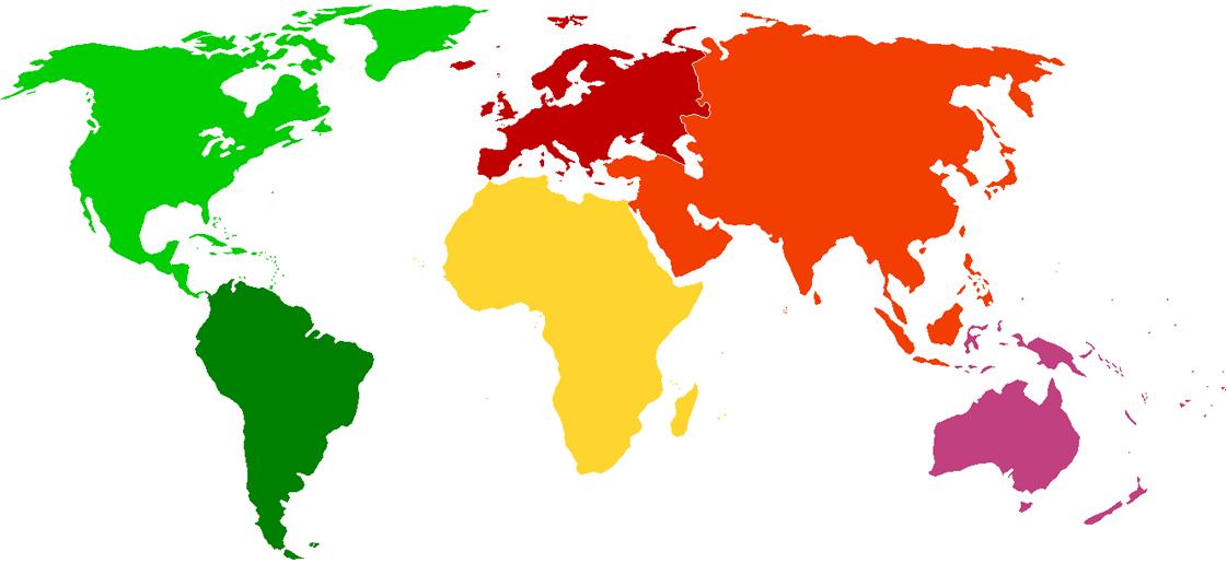 PHU International Map