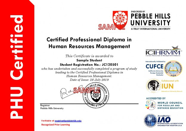 PHU Standard Sample Diploma_Chelsea International (1)